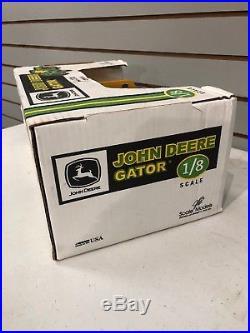 1/8 John Deere Yellow Gator By Scale Models