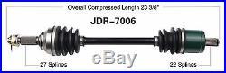 2009 John Deere Gator XUV 620i 4x4 Front LH and RH CV Axles Gas To SR# 030955