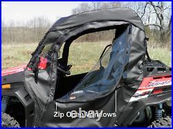 2010-14 John Deere Gator HPX/XUV Doors with Zip Open Windows