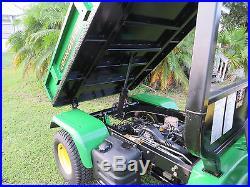 2010 John Deere 2020A Pro Gator Dump Bed Very Clean