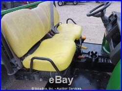 2011 John Deere Gator HPX 4X4 Diesel 4WD Utility Cart Vehicle Dump Bed ATV