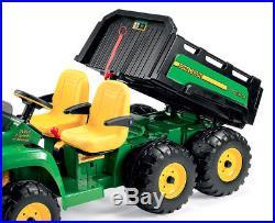 24V PEG PEREGO John Deere GATOR 6x4 Zweisitzer Kinder Elektro Auto Lithium Akku
