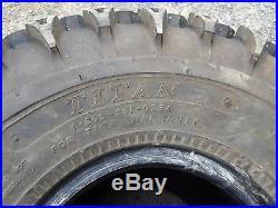 (2) 22.5X10-8 Carlisle HD Field Trax Tire John Deere Gators UTV ATV SHIPS FREE