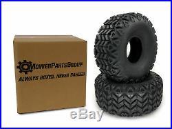 (2) 22.5x10-8 ATV Tire Fits John Deere Gator Front 6x4 4x2 22.5x10.00-8 M138664