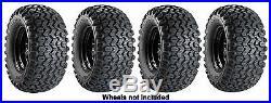 (2) 22.5x10x8 & (2) 25x13x9 Carlisle HD Field Trax Tires John Deere Gator UTV's