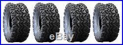(2) 22x9.5x10 & (2) 24x10.5x10 Innova Cayman AT Tires OEM 4 John Deere Gator TX