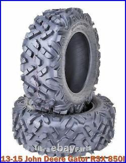 (2) 26x10-14 ATV rear Tire Set for 13-15 John Deere Gator RSX 850I