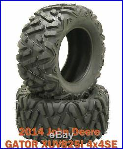 (2) 27x11-14 Rear Tire Set for 2014 John Deere GATOR XUV825I 4x4SE Bighorn Style
