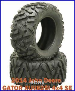 (2) 27x9R14 ATV Radial Front Tire Set for 2014 John Deere GATOR XUV825I 4x4 SE