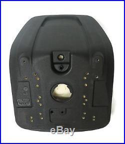 (2) Black HIGH BACK Seats for John Deere Gator XUV 620i, 850D, 550, 550 S4 UTV