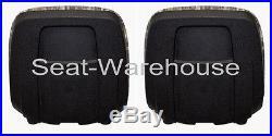 (2) Camo XB180 HIGH BACK SEATS for John Deere GATORS Made in USA by MILSCO #JZ