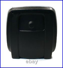 (2) Grey HIGH BACK Seats for John Deere Gator XUV 620i, 850D, 550, 550 S4 UTV