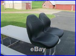 2- HIGH BACK SEATS JOHN DEERE GATOR RSX 850i, XUV, 825i, 855D 6x4, 4x2