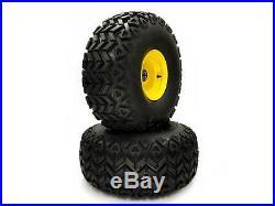 (2) John Deere Gator 22.5x10.00-8 Front Wheel & Tire Assemblies AM143568 M118820