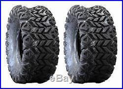 (2) New Innova 22.5x10x8 Cayman AT Front Tires OEM For John Deere Gator UTV's