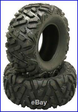2 WANDA ATV/UTV Tires 25x12-9 305/65-9 /6PR P350 John Deer Gator