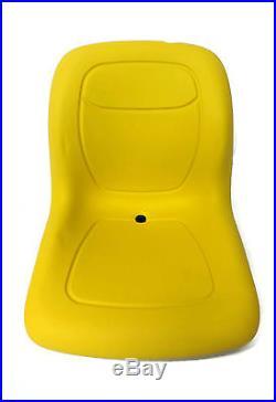 (2) Yellow HIGH BACK SEAT with Pivot Rod Bracket John Deere Gator 4x2 6x4 Diesel