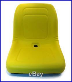 (2) Yellow HIGH BACK Seats John Deere Gator Gas Diesel Model 4x2 4x4 HPX TH 6x4