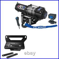 3000 lb KFI Winch Combo Kit John Deere Gator XUV 550 and RSX850i 2012 2013 NEW