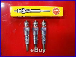 3 John Deere 1023e 1025r 1026r 2025r 2305 2320 850d 855d Gator Ngk Glow Plugs