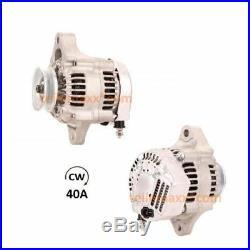 40A Lichtmaschine JOHN DEERE Yanmar 3TNE78A 3TNE68 3TNA72 119620-77201 AM877740