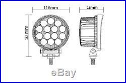 42W LED DRIVING LIGHT SET 12Volt OFF-ROAD JOHN DEERE GATOR AIRBOAT 4.3 Pair KIT
