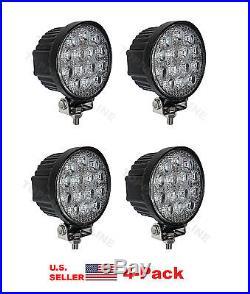 42W Round off road LED work light Lamp Flood JOHN DEERE GATOR CAT ATV UTV (4-PK)