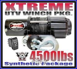 4500LB UTV WINCH 11-16 JOHN DEERE GATOR XUV 625i & 825i & 855D UTV 4500
