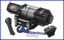 4500 lb KFI Wide Winch Combo Kit (M2) For 2018 John Deere Gator XUV 835M