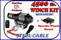 4500lb Mad Dog Winch Mount Combo 2018 John Deere Gator XUV 560E / 590E / 590M