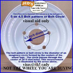 4 12 Rims Wheel some John Deere GATOR XUV UTV ATV 12x8 5/4.5 Type 550 Aluminum