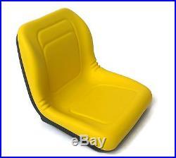(4) HIGH BACK Seats for John Deere Gator TX / TX 4x2 / TX Turf / TX 4x2 Turf UTV