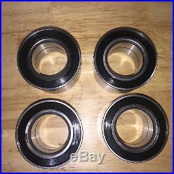(4) John Deere Gator XUV/RSX 850i Front Wheel Bearing M156019 M159862 ALL FOUR
