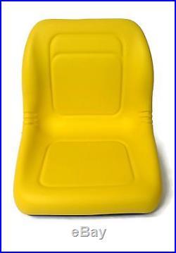 (4) New HIGH BACK Seats John Deere Gator UTV 4x2 6x4 Diesel Trail Worksite Turf