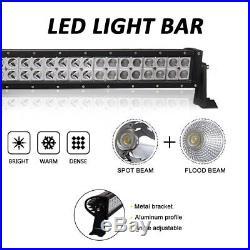 50 inch Roof Led Light Bar Kit Combo Part John Deere Gator Yamaha Rhino Prarie