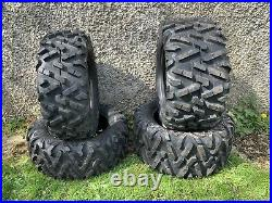 £564+vat 26x8-14 / 26x10-14 =X4 Set John Deere Gator TYRES ATV QUAD BIKE TakeOff