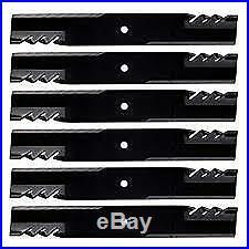 6PK Oregon 396-738 G6 Gator Mulching Blades for John Deere AM39966 M86209 318