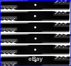 6 G6 GATOR Blades John Deere 2305, 2000, 3000, 4000 Series 62 cut 396-771