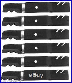 6 PK 96-306 Oregon Gator Blades Compatible Wtih John Deere M115496, M22629