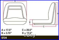 AM129969 New John Deere Utility Vehicle Yellow Gator Seat CX E TE TH HPX Trail +