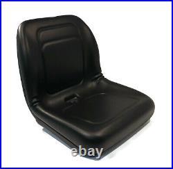 Black High Back Seat for John Deere L145, LA125, LA145, LA155, LT150, LX266