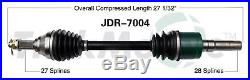 CV Axle Assembly SurTrack JDR-7004 fits 07-10 John Deere Gator XUV 620i 4x4