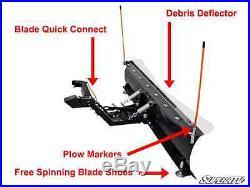 Complete Kit! John Deere Gator 625i, 825i, 855D 52Plow Pro Heavy Duty SnowPlow