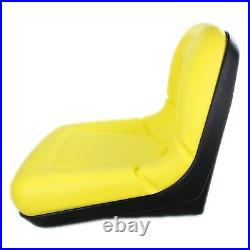 E-AM133476 DirectFit Yellow 15 Seat for John Deere 4X2, CS & TS 4X2 Gators