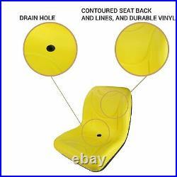 E-VGA10177 Flip-Up Style Seat for John Deere Gator for CX (s/n 039,999)
