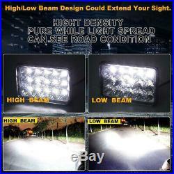 Fit John Deere Gator LED Headlight Pair 4X2 6X4 Utility Vehicle John Deere 9500