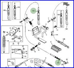 Genuine John Deere Gator Accelerator Throttle Cable AM130237 4x2 6x4 Petrol