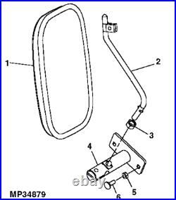 Genuine John Deere XUV 850D Gator Side Mirror RH LH AL58554