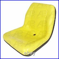 High Back Seat Yellow for John Deere JD Gator Lawn Mower Garden Tractor Ride on