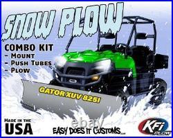 JOHN DEERE GATOR XUV825i & XUV 825i S4 ALL KFI UTV 66 Snow Plow Combo Kit